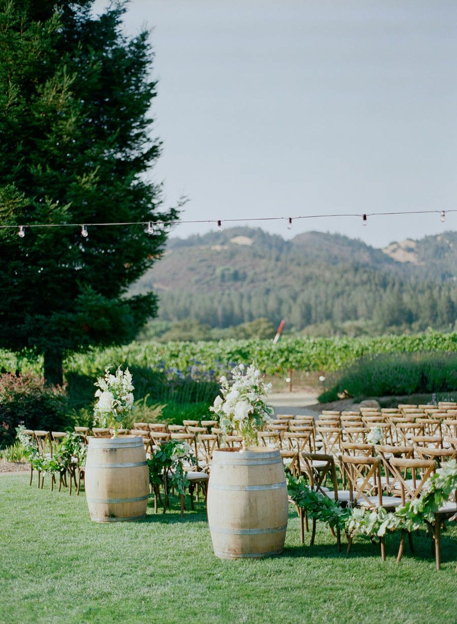 Sophisticated Outdoor Sonoma Wedding in Wine Country