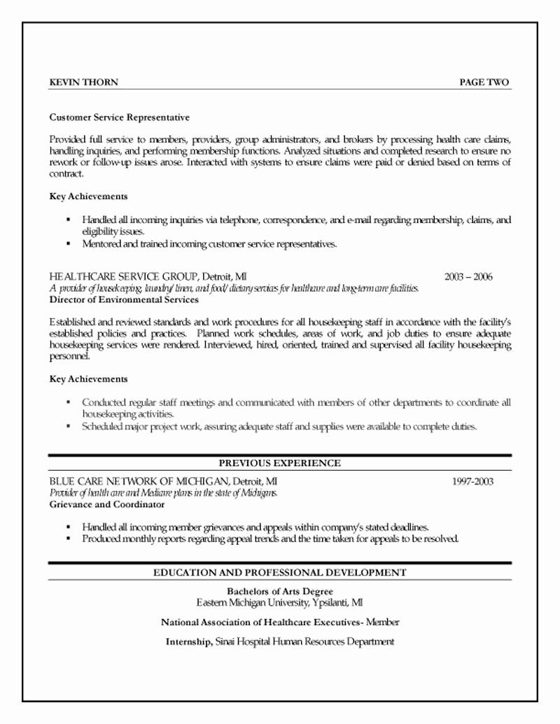 Human resources specialist resume inspirational human