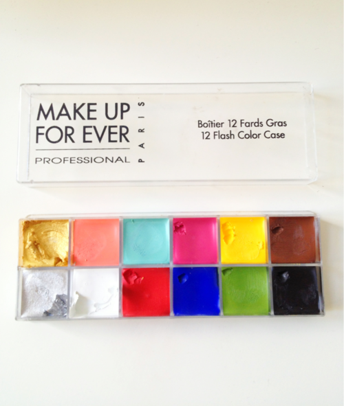 The Make Up Forever Flash palette. So glad I have this