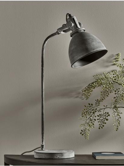 New Greywash Industrial Desk Lamp Industrial Desk Lamp Desk Lamp Modern Desk Lamp