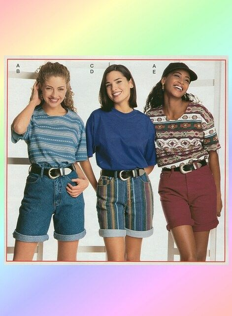 Pin on Throwback to the 90s80s Clothes For Teens