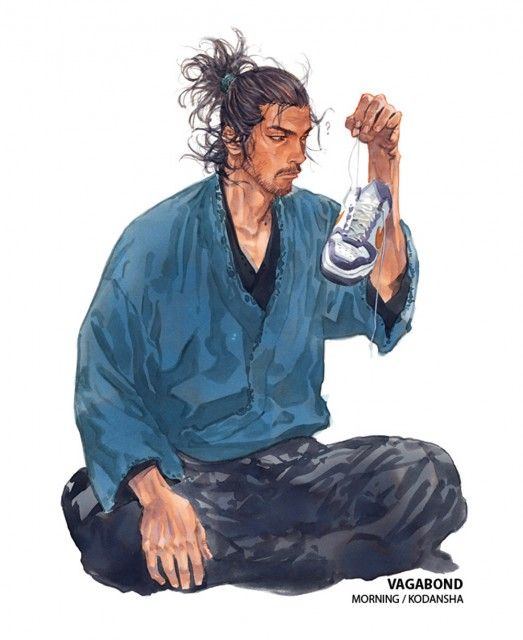 Takehiko Inoue, Vagabond, Musashi Miyamoto (Vagabond