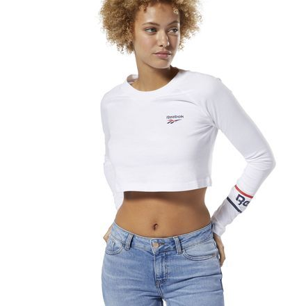 dd5955ed46 Classics All Over Vector Long Sleeve Tee in 2019 | Products | White ...
