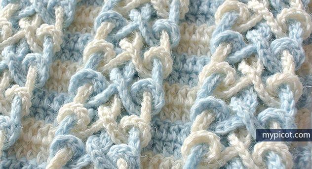 MyPicot   Free crochet patterns   Afghans   Pinterest   Patrones de ...