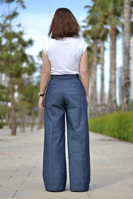 Sorell Trousers Pattern  pauline alice - Sewing patterns, tutorials ...