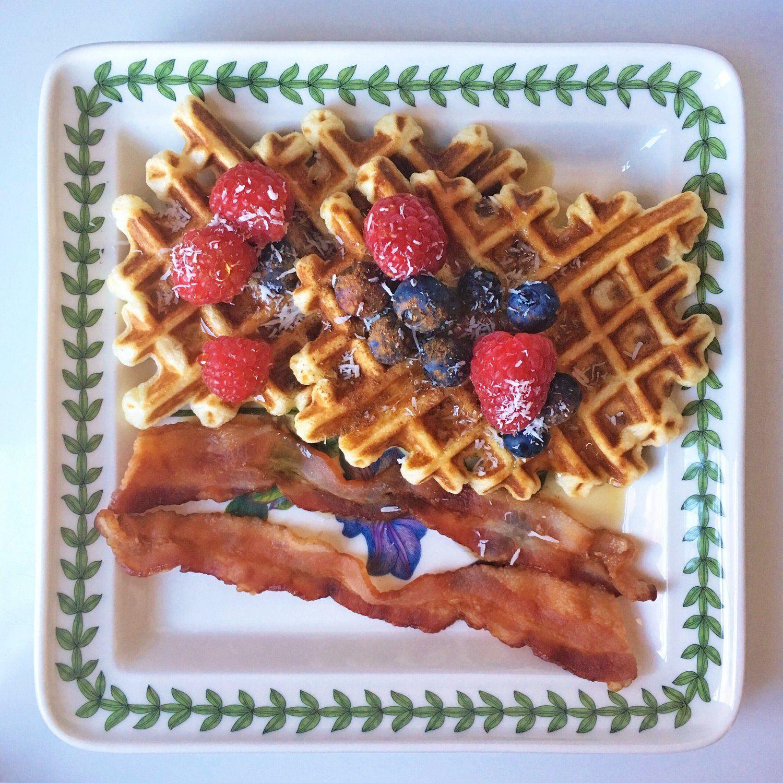 Gluten-Free Waffles | Homemade waffles, Waffles, Gluten ...