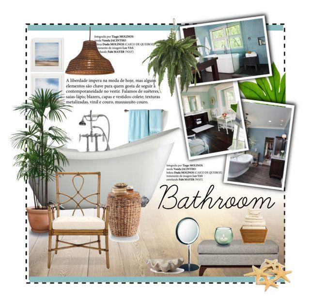 """Beautiful Bathrooms!"" by ceci-alva on Polyvore"