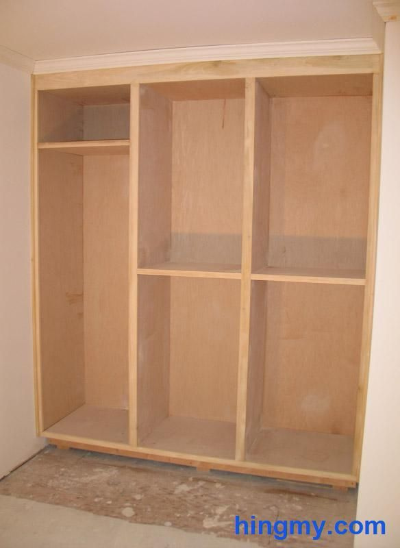 Hingmy Built In Closet Face Frame Construction Build A Closet Framing A Closet Diy Built In Wardrobes