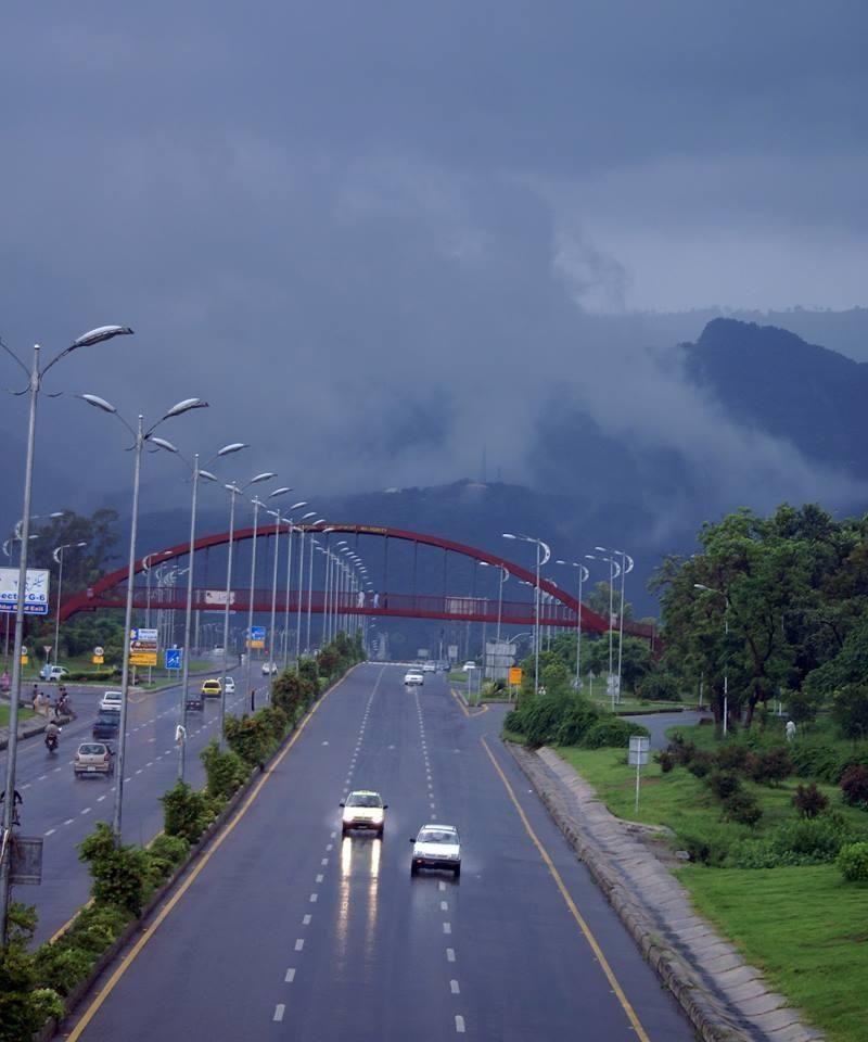 Islamabad Roads: 7th Avenue, Islamabad, Pakistan
