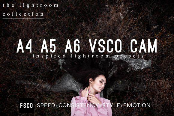A4 A5 A6 VSCO Cam Inspired Presets by FSCO on @creativemarket