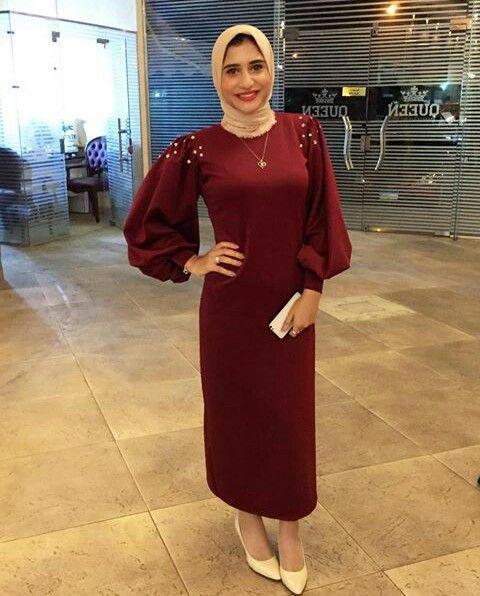 Pin By Shrouk On Hijab Fashion Soiree Dress Fashion Dress Party Hijab Dress Party
