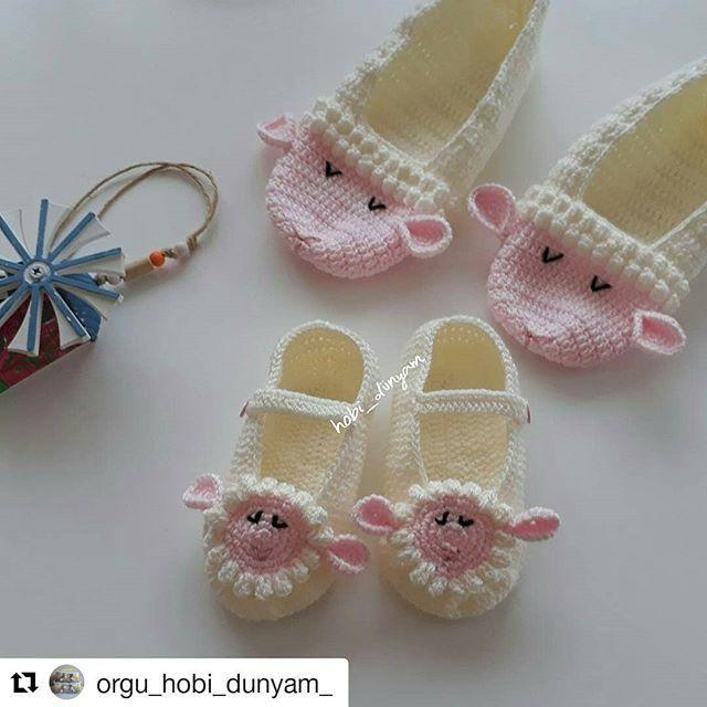 Hayırlı günler. #tbt❤️ mi en sevilen Kuzulu patiklerimle yapiyim???? . . . . #patikmodelleri#kuzulupatik#annekizkombin#cicilibicili#ceyizlikurunler#hobimiseviyorum#ormeyiseviyorum#siparişalinir # #crochetbabyshoes