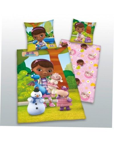 Doc McStuffins 100 Cotton Duvet Cover Set