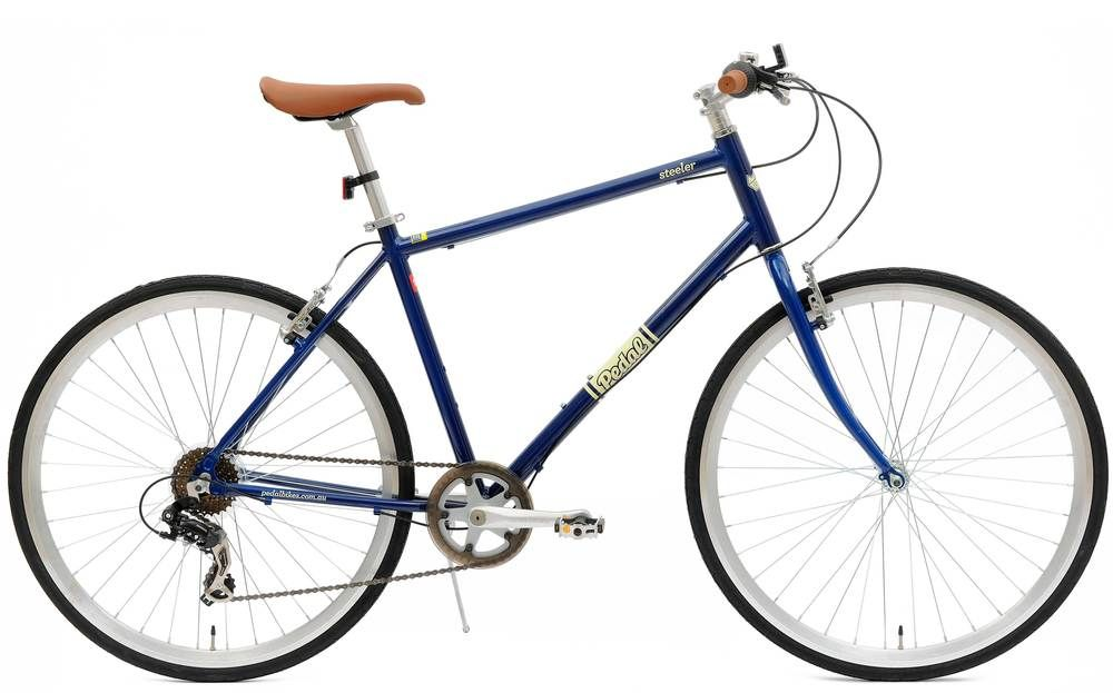 Pedal Steeler is a practical flat bar road bike that