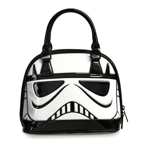 Star Wars Stormtrooper Patent Dome Purse - Loungefly - Star Wars - Purses at…