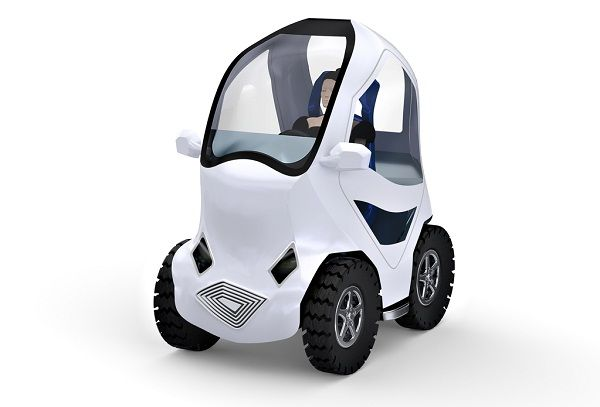 The Electric City Car Is Tiny And Made For Just One Person At 6 Feet 2 Inches Long 4 Wide Under Tall Pee