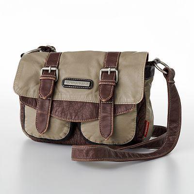 Unionbay Mini Messenger Bag - Taupe   Purses   Pinterest   Messenger ... be38110fdd
