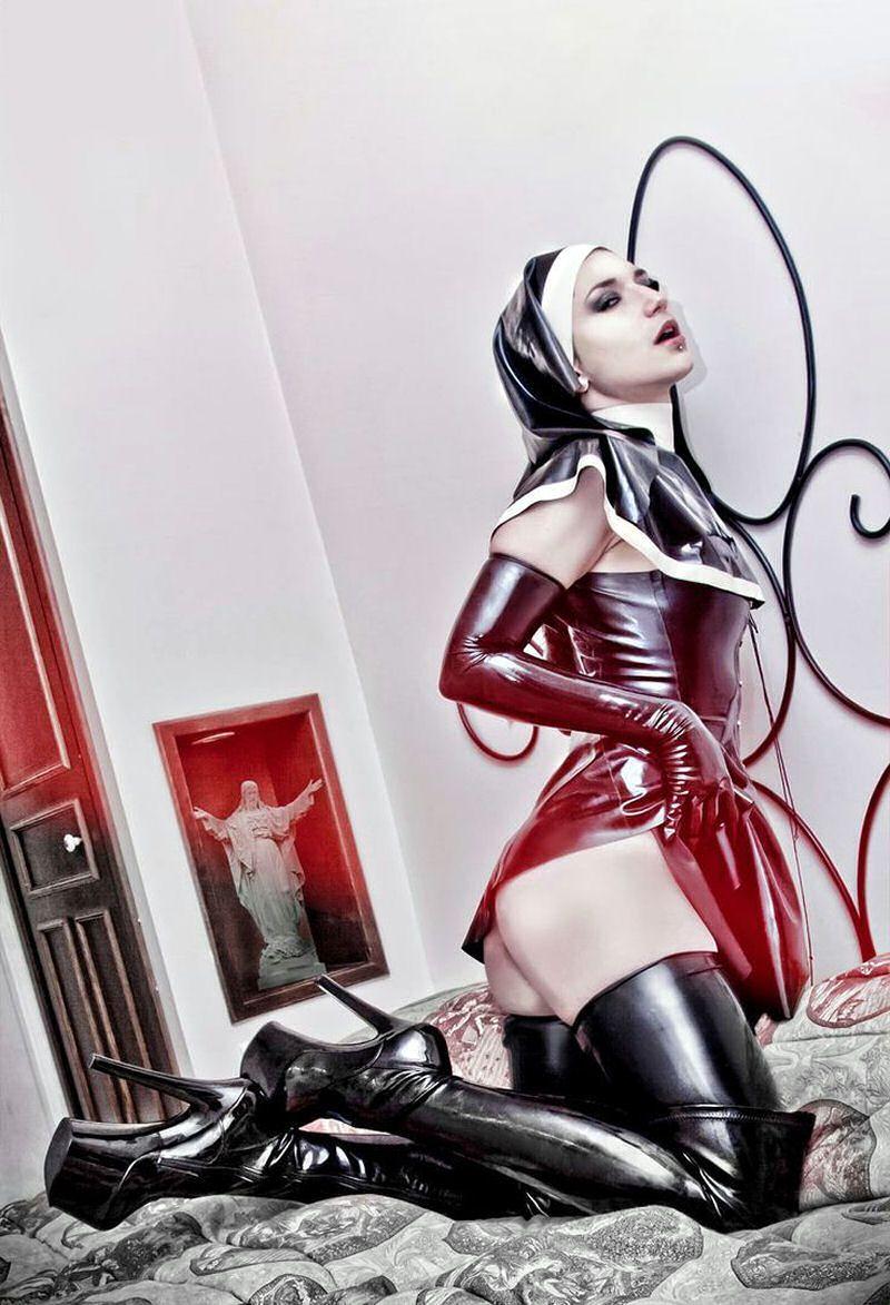 mistress persephone nun Satanic