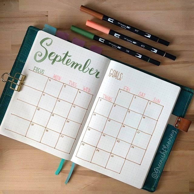 For September, I decided to switch to more fall-ish colors, but I\'m ...