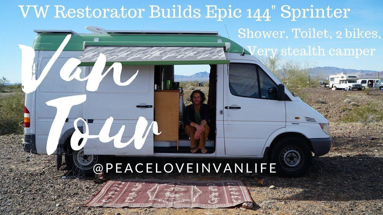 Car Craftsman Builds Diy 144 Sprinter Van Shower Toilet Dual