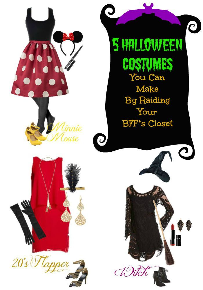 Marvelous Use Our Ideas To Raid Your Favorite Closet And Put Together The Perfect DIY  Teen Halloween