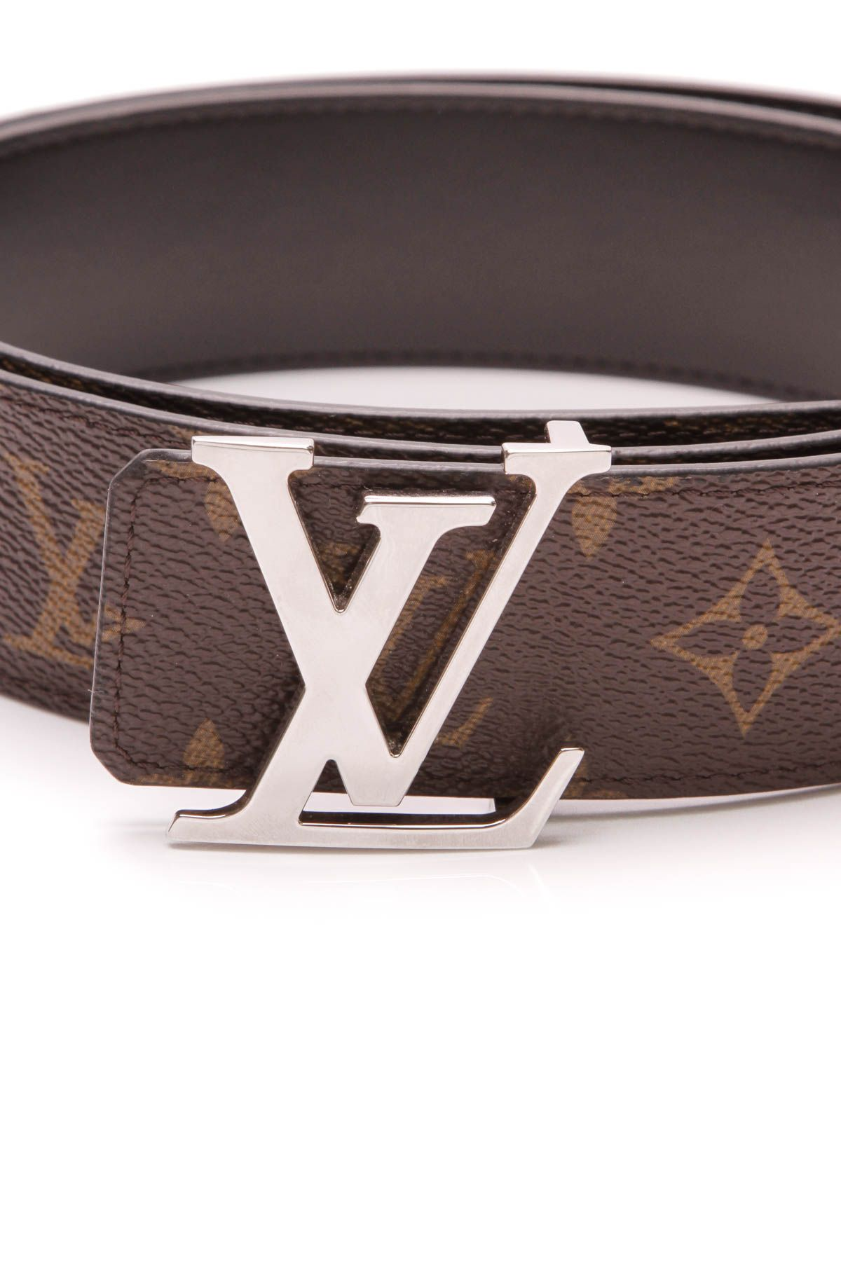 Louis Vuitton LV initials belt in monogram canvas Louis
