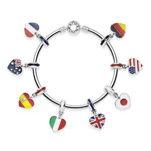 New Country Flag Pandora Charms Pandora Jewelry