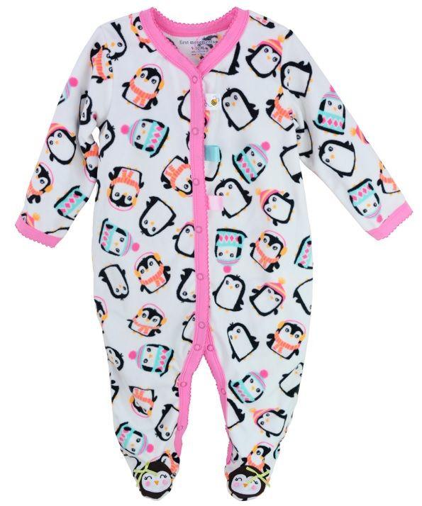3de859f77 Fleece Baby Pajamas Rompers Body suits Carters Foot Cover Newborn ...