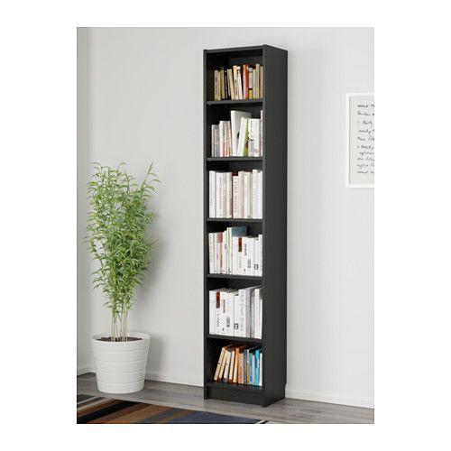 Billy bookcase black brown apartment ideas ikea billy - Billy ikea misure ...
