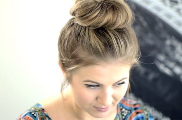 Plus belles coupes de cheveux longs tendance 2017  Coupe en image   Description  Messy Top Knot | 17 Easy Back To School Hairstyles I think it's always a great idea to feel good about yourself and present yourself the best way possible. Of course, it's not every day that you'd want to look...