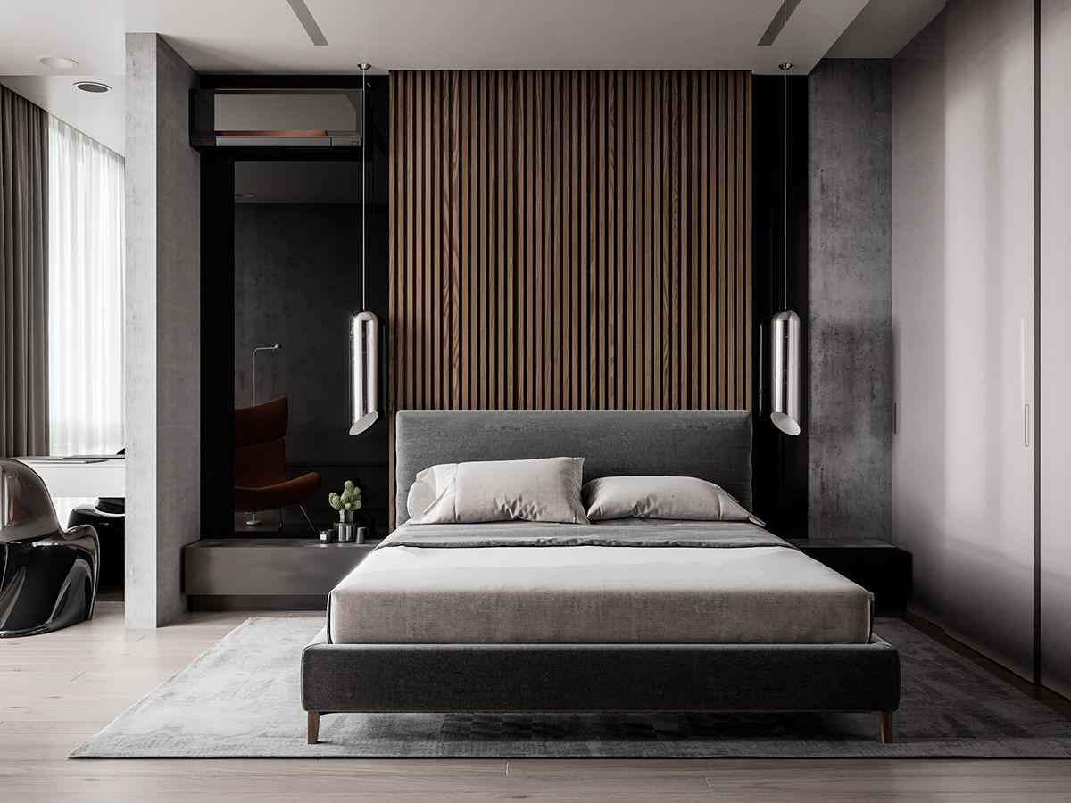 Interior Visualization On Behance Luxurious Bedrooms Bedroom Design Eclectic Bedroom