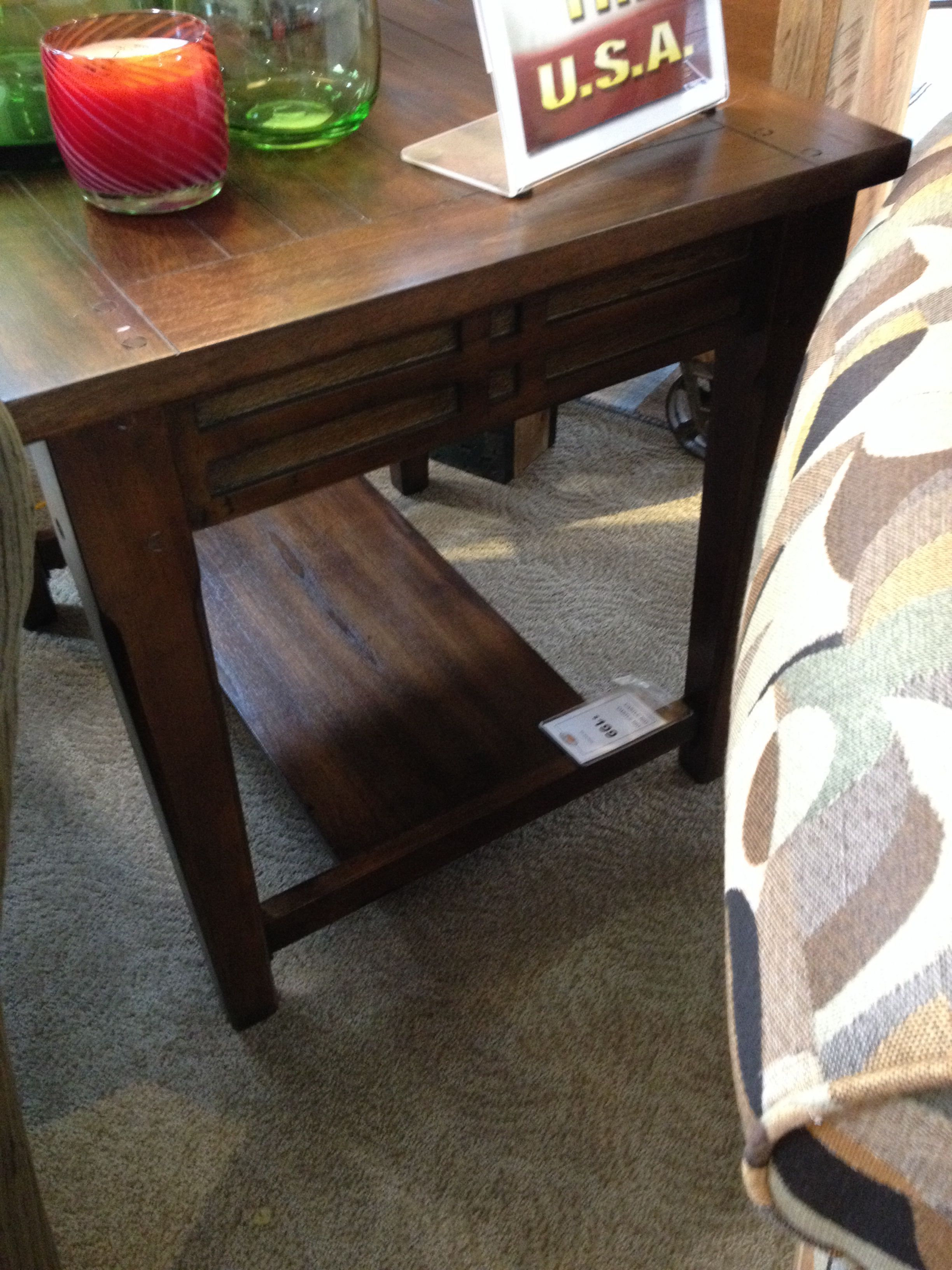 End Table E 199 Furniture Row Sofa Mart Rowe Furniture Furniture Entryway Tables