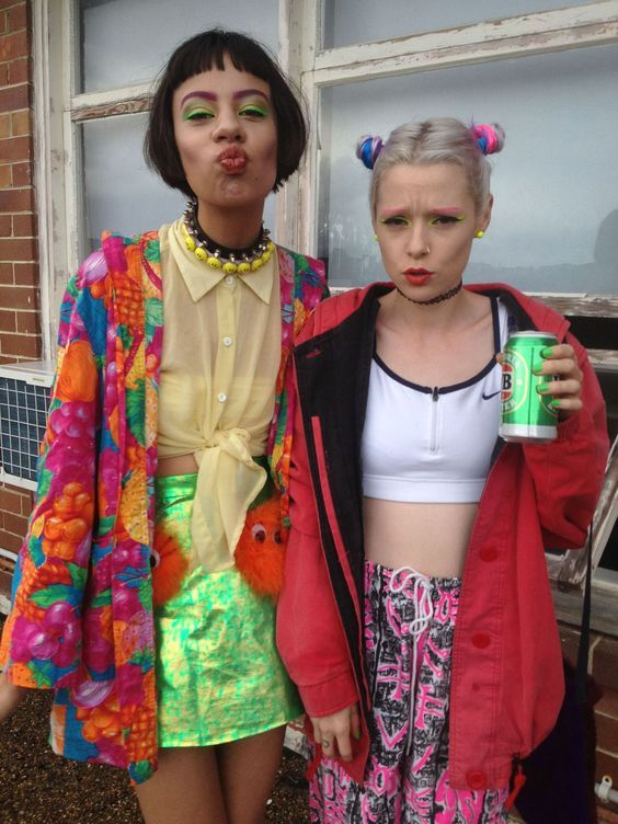 Image result for 90's rave fashion | 90's Based Theme ...