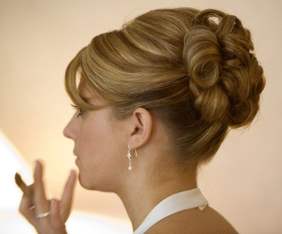 Terrific Updos For Medium Length Hair Image Of Wedding Hairstyles For Hairstyles For Women Draintrainus