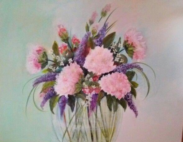 Flowers acryl