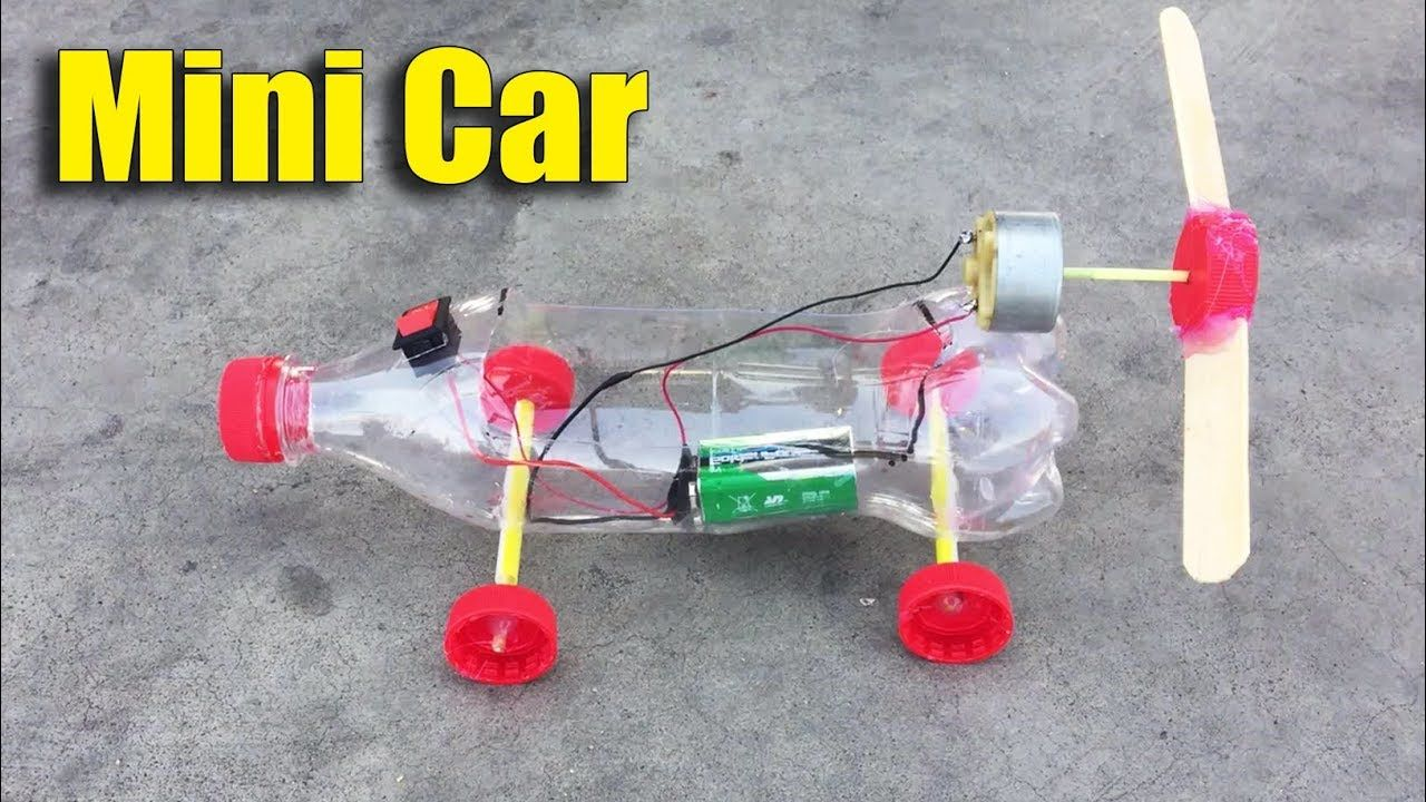 How to Make Car Toy for Kids Using DC Motor DIY at Home