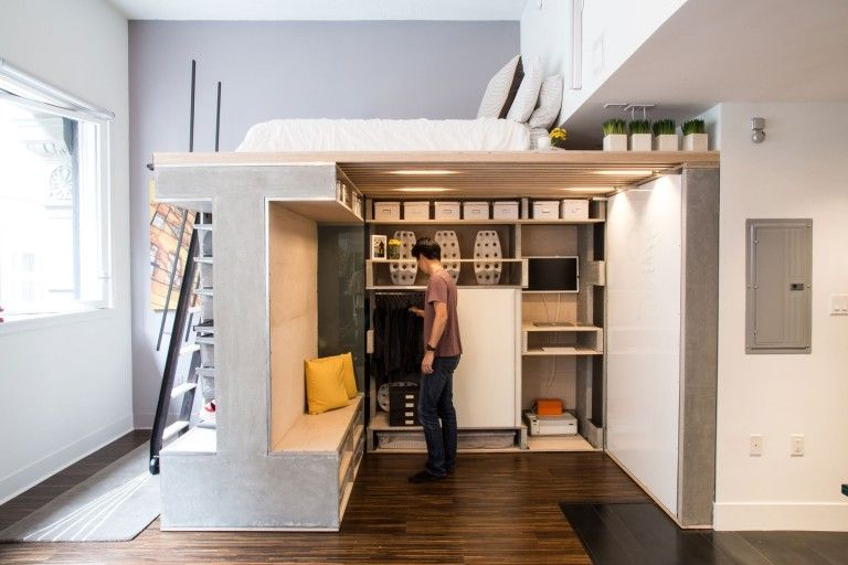Great Ways To Transform Small Spaces With Adult Loft Beds ...
