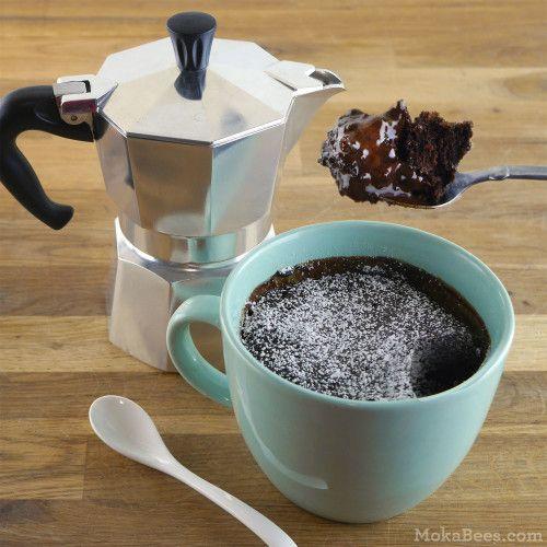 5-Minute Chocolate Espresso Lava Mug Cake   Recipe   Mug ...