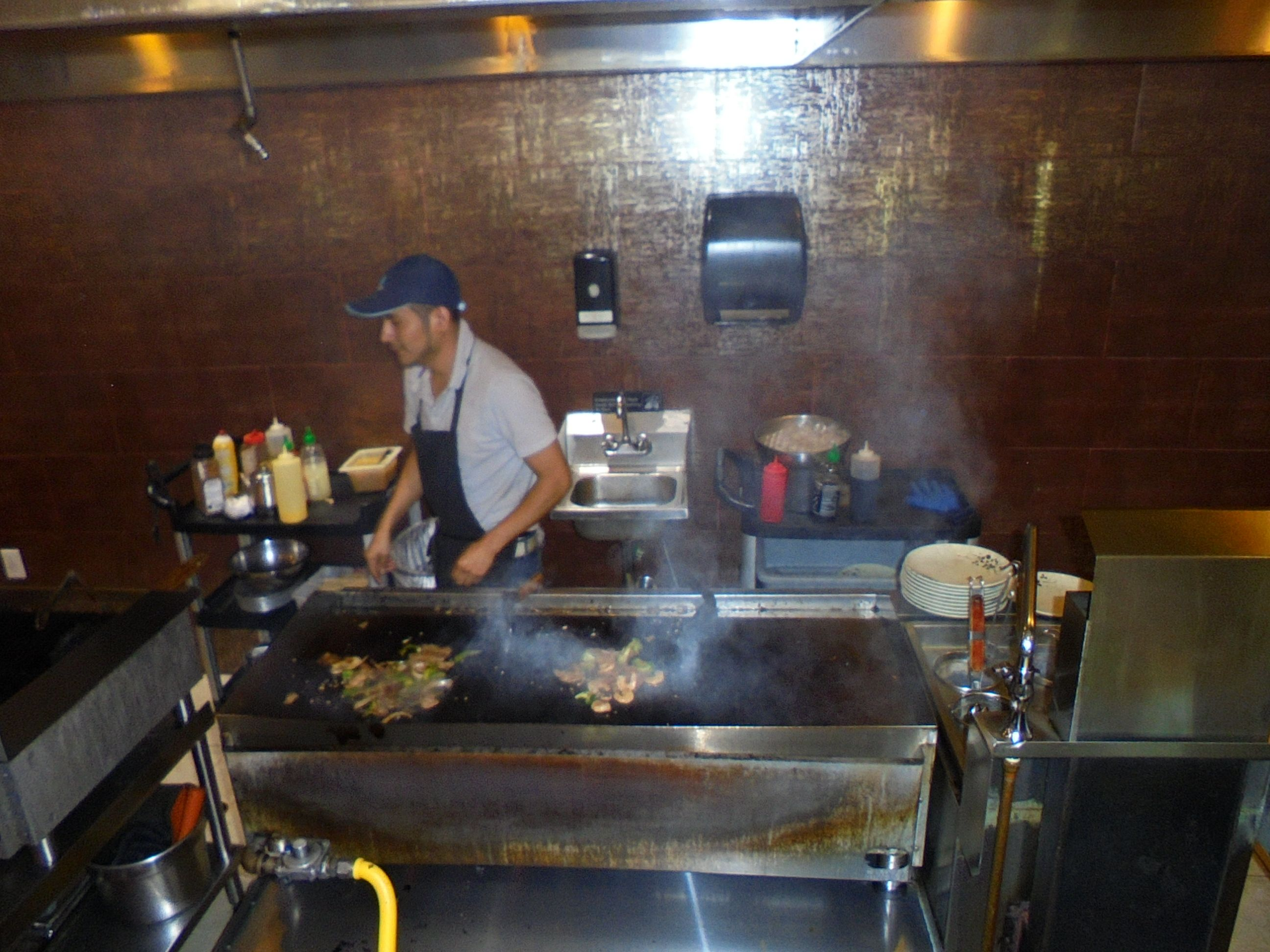 #grilling #Hibachifood in #Philadelphia @ #Panasian on #RooseveltBlvd in #Philly - www.drewrynewsnetwork.com