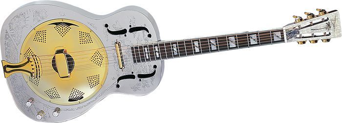 Dean Chrome G Acoustic Electric Resonator Guitar Resonator Guitar Acoustic Electric Guitar