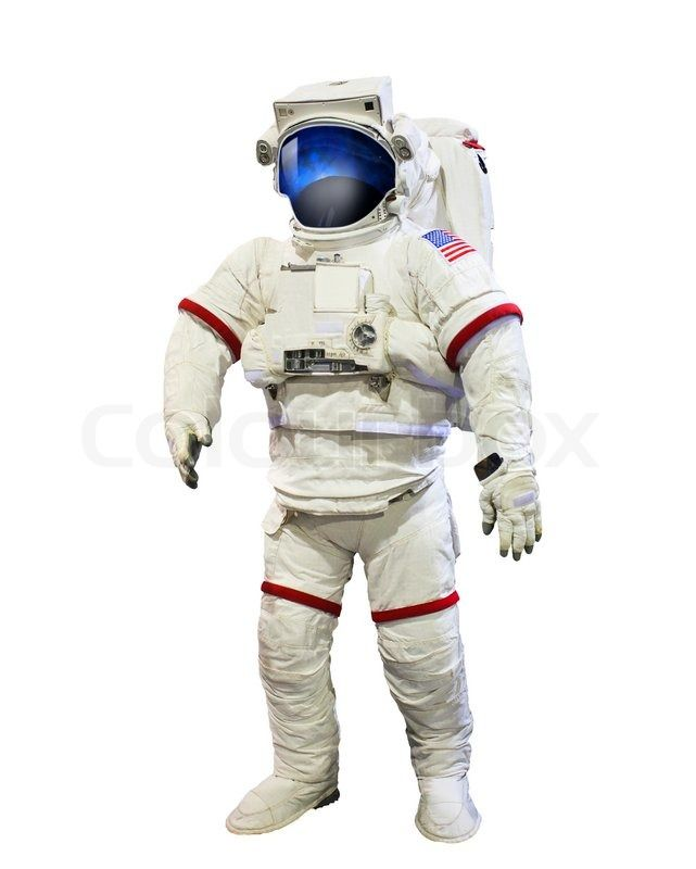 Nasa Astronaut Pressure Suit With Galaxi Space Reflection On Helmet Mask Isolated White Background Use For Education And Space T Nasa Astronauts Nasa Astronaut