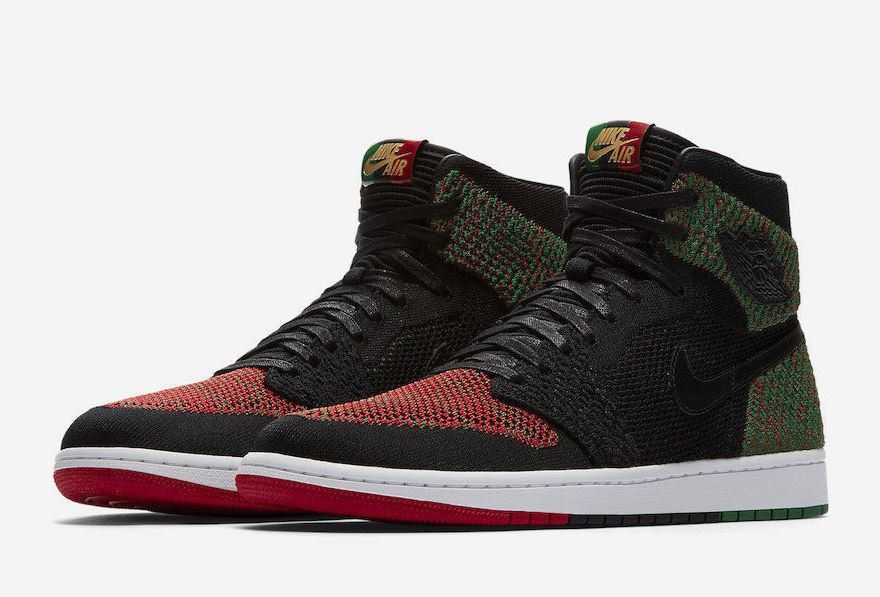 sale retailer 043ea c6ceb ... wholesale air jordan 1 retro high flyknit size 9.5 bhm green black red  aa2426 026 history