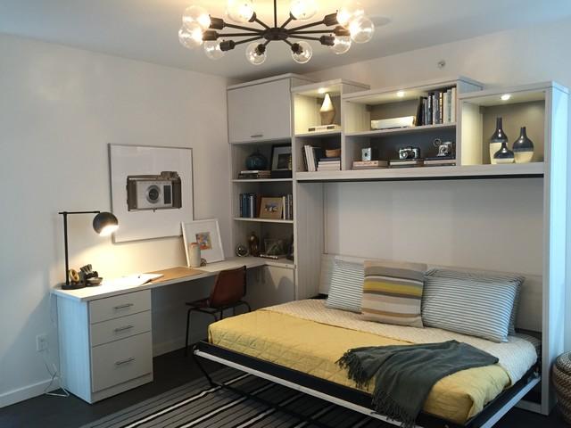 Wall Beds Bedroom San Francisco by Katy Milton