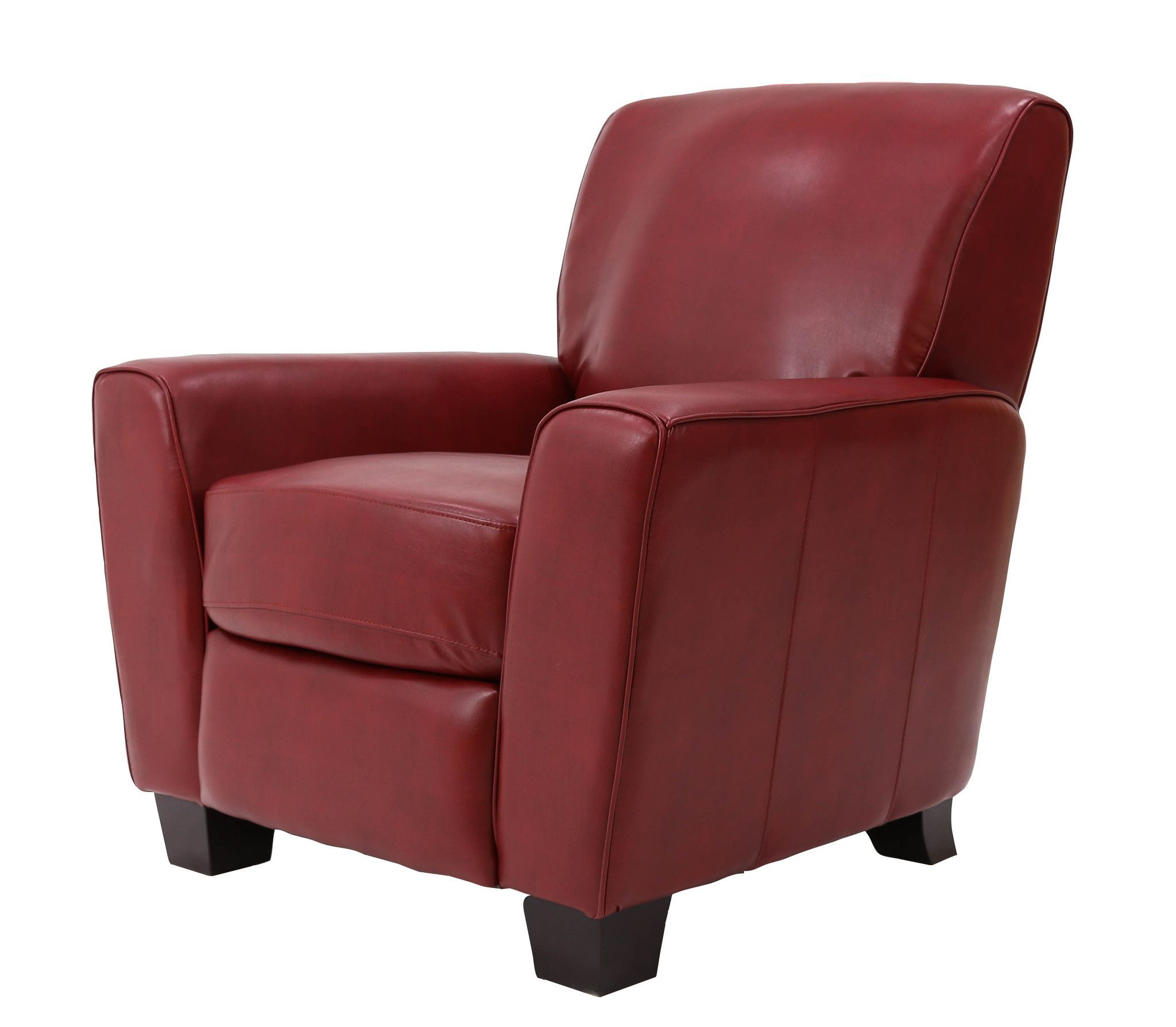 michael anthony furniture nadiana pushback recliner phantom red