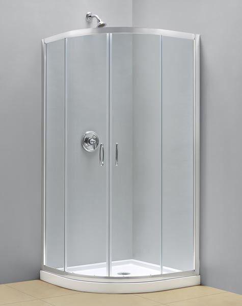31 X 31 Dreamline Prime Chrome 1 4 Shen 7031310 Round Corner Shower Enclosure Dreamline Shower Enclosure Dreamline Shower Wall Kits