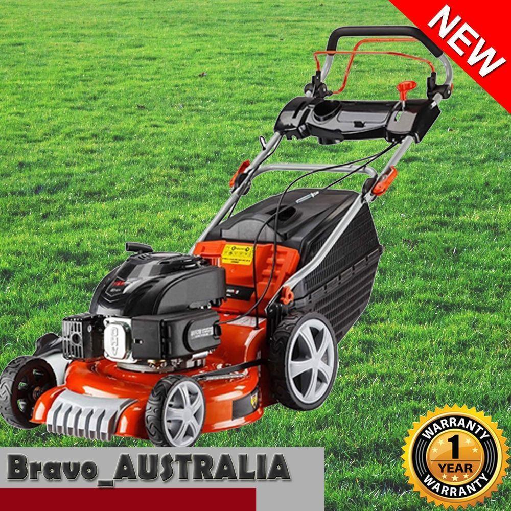 Baumr Ag 760sx 19 Lawn Mower 165cc Self Propelled Lawn Mower