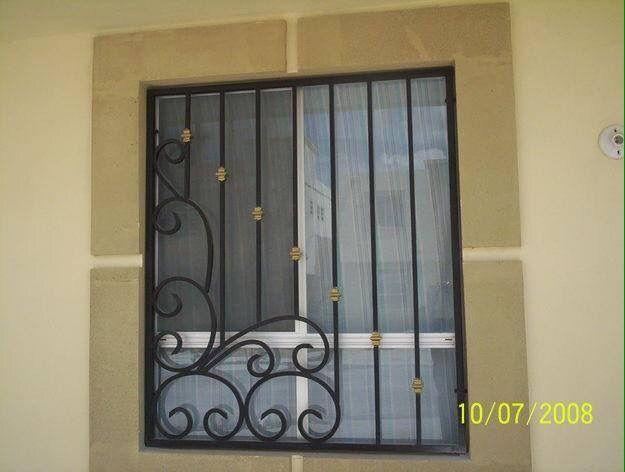 Verjas para ventanas mubles de hierro chido chidei - Verjas de hierro ...