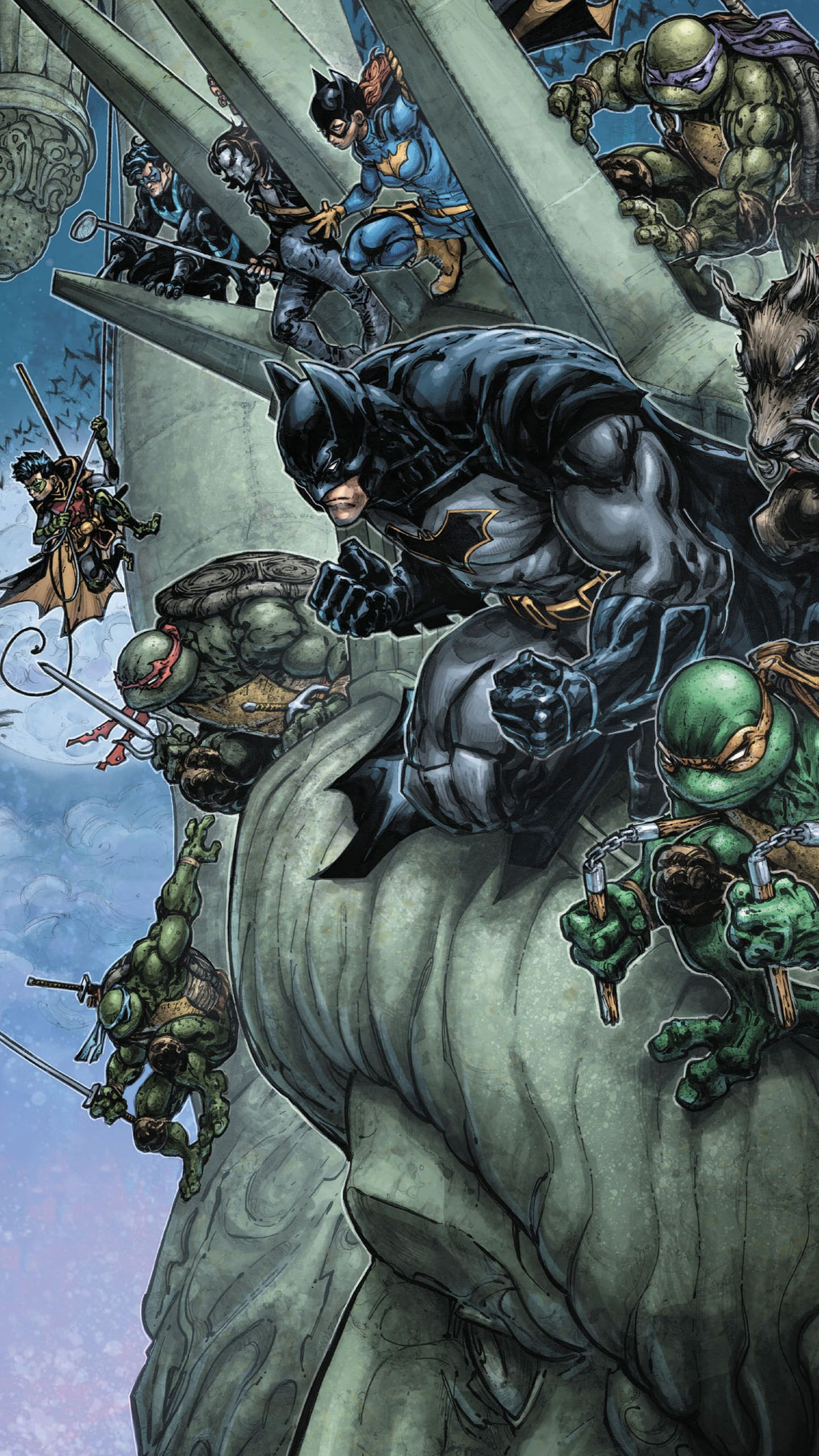 Pin By Pon Lynn On Dc In 2020 With Images Batman Tmnt Ninja