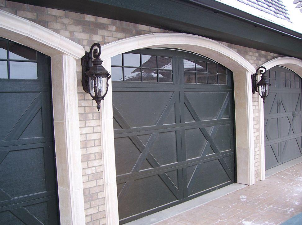 Photos Of Garage Door Trim Ridge Garage Door Arch And