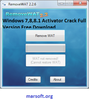 wat remover tool for windows 7